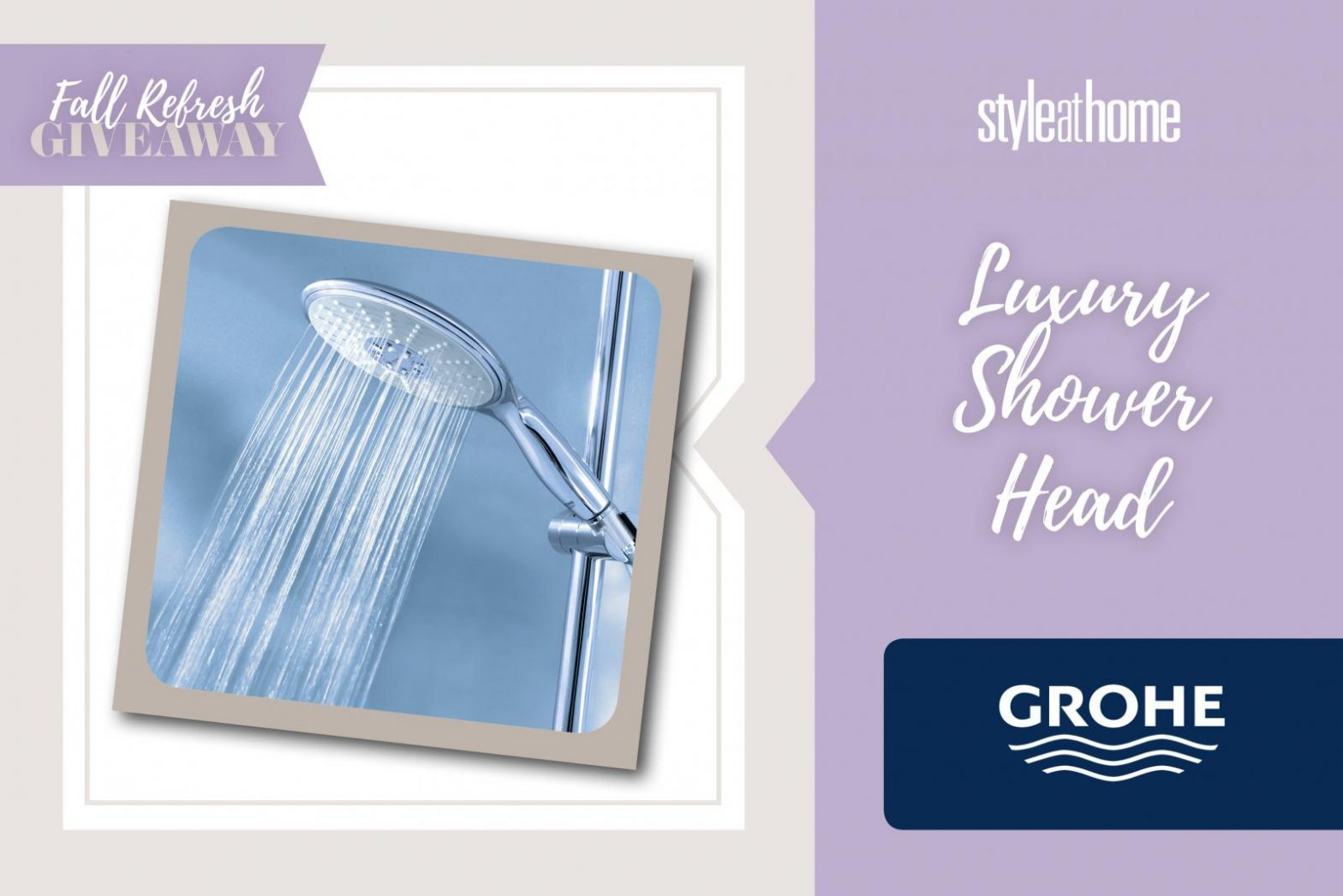 Shower in Style Giveaway Event